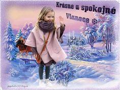 Vianočné obrázky « Category | Obrázky pre radosť Winter Jackets, Fashion, Winter Coats, Moda, Winter Vest Outfits, Fashion Styles, Fashion Illustrations