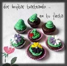 Mini cupcakes primavera