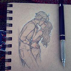 Kissy Kix #doodle