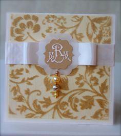 DIY: Onnittelukortti hääparille / Greeting Card for Newlyweds