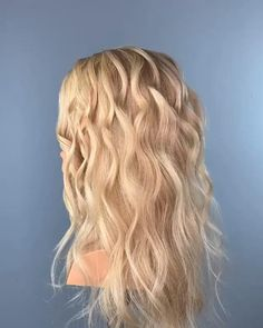 Bridesmaid Hair Updo Elegant, Bridesmaid Hair Medium Length, Bridesmaid Hair Brunette, Bridesmaid Hair Ponytail, Bridesmaid Hair Tutorial, Down Hairstyles, Wedding Hairstyles, Medium Hair Styles, Curly Hair Styles