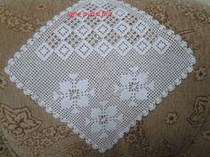 dantel mutfak takımı ve tepsi örtüleri (66) Crochet Tablecloth, Crochet Doilies, Filet Crochet, Borboleta Crochet, Crochet Designs, Woody, Pot Holders, Model, Home Decor