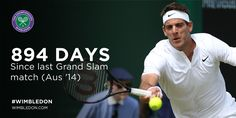 6/28/16 Delpo returns with a win... Via Wimbledon  ·   Welcome back, Juan...  Del Potro returns to Grand Slam action with a 6-1 7-5 6-0 win over Stephane Robert #Wimbledon