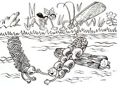 Ferdinand, Amazing Adventures, Ants, Teaching Kids, Colouring, Bee, Butterfly, Author, Illustration