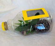 Juice Bottle Bug Catcher for outdoor fun .... how to.  Fun way to catch and then observe bugs for the kids.