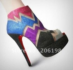 Daffodil Red bottom shoes