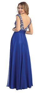 Sleeveless Sheer Floor Length Dress Homecoming Gown Elegant Plus Sizes Sequins | eBay