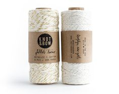 Knot & Bow shop: In the crafts corner: Gold/Silver Glitter Twine Duo / The Original Glitter Twine