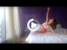 (5) Easy Going Morning Yoga in Bed Stretch - YouTube #morningyoga #morningyoga Bed Stretches, Morning Yoga Stretches, Bed Yoga, Anxiety Relief, Yoga Poses, Easy, People, Stream Bed, People Illustration
