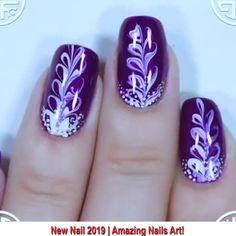 Nails Art Design - Care - Skin care , beauty ideas and skin care tips Vegas Nail Art, Vegas Nails, Nagel Stamping, Stamping Nail Art, Nail Stamping Designs, Nail Art Designs Videos, Nail Designs, Blue Nails, My Nails