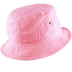 f7c20a6eedb6a THE HAT DEPOT 300N Unisex 100% Cotton Packable Summer Travel Bucket Hat  (S M