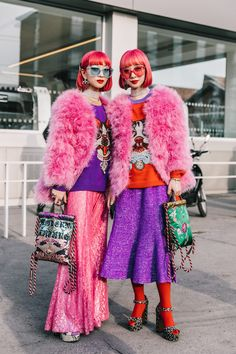 Gucci, Milan Fashion Week via Collage Vintage High Street Fashion, Japanese Street Fashion, Tokyo Fashion, Harajuku Fashion, Street Style 2018, Tokyo Street Style, Autumn Street Style, Street Style Women, Street Styles