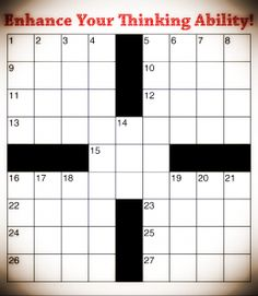 Cross Word Puzzle