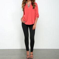 SUNNOW® 4 Farben NEU Damen Bluse Oberteile Chiffon V Ausschnitt Locker Langarm T-Shirt Herbst: Amazon.de: Bekleidung