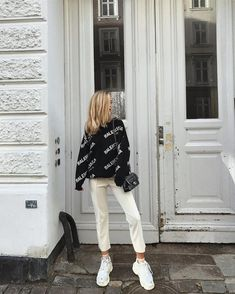 Discovered by Lucilla. Find images and videos about girl, fashion and style on We Heart It - the app to get lost in what you love. Mode Outfits, Trendy Outfits, Fashion Outfits, Womens Fashion, Fashion Trends, Mode Ootd, Elegantes Outfit, Street Style, Mode Vintage