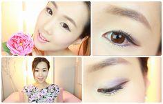 First Date Purple Spring Makeup ♥ 보라빛 데이트 봄날 화장