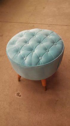 sillón puff butaca retro americano,redondo capitone patchw