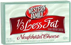 Western Family Neufchatel Cheese, 8 oz