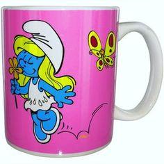Smurfette Ceramic Mug