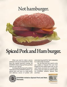 1973 DHARMA Initiative Spiced Pork and Ham ad | by maxpixpix
