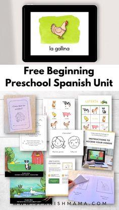 Preschool Spanish Lessons