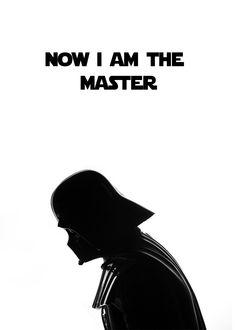 Darth Vader Minimalist poster