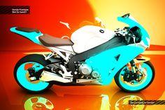 Honda Fireblade Visuals on Behance
