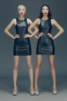 Template Make up & Photo by Tee Le Model : Minh Tu & Phan Linh High Fashion Poses, Fashion Model Poses, Fashion Photography Poses, Fashion Photography Inspiration, Photoshoot Inspiration, Fashion Models, Model Photos, Girl Photos, Twin Models