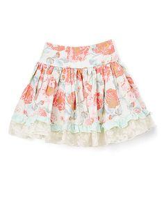 Loving this Rose Garden Ava Skirt - Toddler & Girls on #zulily! #zulilyfinds