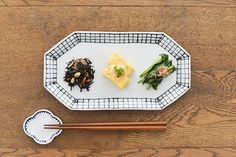 九谷焼/日下華子/格子/八角皿 - 北欧雑貨と北欧食器の通販サイト| 北欧、暮らしの道具店