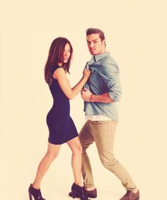 Vincent & Catherine (CW's Beauty and the Beast) i so love this photo :)