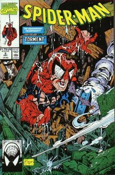 Todd McFarlane, did my favorite series of spiderman comics. They are one of the prides of my comic collection.
