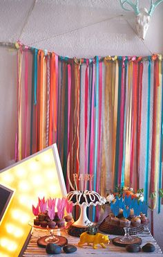This bright Southwestern theme is so cute! | Navajo baby shower by Grit & Gold | 100 Layer Cakelet