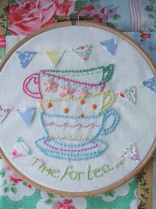 Stitch And Bake: Vintage Embroidery
