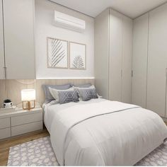 Best Bedroom Ideas For Small Rooms For Adults Design Murphy Beds 64 Ideas Apartment Interior, Bedroom Apartment, Home Decor Bedroom, Room Interior, Bedroom Ideas, Bedroom Signs, Small Rooms, Small Apartments, Bedroom Cupboard Designs