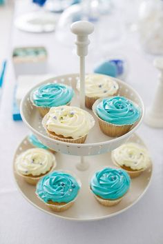 Happy birthday in Tiffany Blue Tiffany Blue, Mini Cupcakes, Wedding Planner, Happy Birthday, Wedding Ideas, Desserts, Food, Design, Tiffany Blue Color