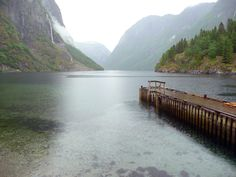 lost somewhere among the fjords in norway.