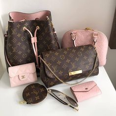Louis Vuitton Collection. LV Favorite Bag, Wallet, Monogram Neonoe Bag.