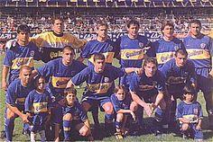 Boca Juniors Campeón del Torneo Apertura 2000.