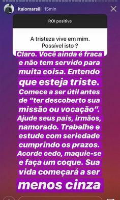 Dr. Italo Marsili - @italomarsili @lessaisabella @designterese @modestaalma #italimarsili #terapiadeguerrilha #stories #instagram #quotes #frases #contosdefadas #coque #coquedeguerrilha #médico #acordapravida #isabellalessa Healing, Spirit, Humor, Memes, Tips, Prints, Life Tips, Guerrilla, Random Thoughts