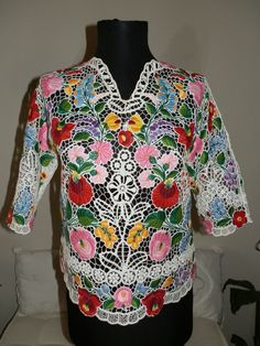 Hey, I found this really awesome Etsy listing at https://www.etsy.com/listing/191235437/handmade-embroidery-hungarian-kalocsa