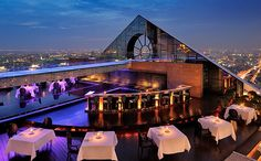 Sirocco - Hotel Lebua (Bangkok, Thailandia)