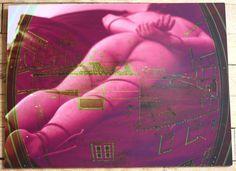 Pop Art Street Art Brut Singulier Creation Numérique sur Aluminium Nea Borgel