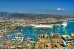 Ensenada Bay, Baja California, México. Can't wait to see this in person!!