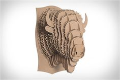 Really Cool Animal-Friendly & Recyclable Cardboard Trophies | The Design Inspiration