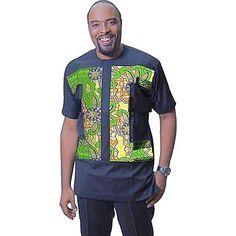 World of Wakanda T-Shirt   AfricansAttire.com  World of Wakanda Conventional African print T-Shirts for Men ***FREE SHIPPING WORLDWIDE*** #AfricanFashion #AfricanAttire #AfricansAttire #Dashiki #Menswear #MenFashion #WakandaStyle Nigerian Men Fashion, African Men Fashion, African Fashion Dresses, African Attire, African Wear, African Dress, African Clothing For Men, African Shirts, South African Traditional Dresses
