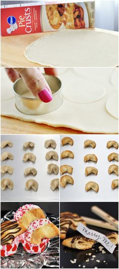#DIY Fortune Cookies — great for a bachelorette or birthday party!
