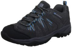 Karrimor Womens Traveller Supa 2 Trekking and Hiking Shoes - [Available From Amazon(UK & Ireland)] - Ladies Karrimor Hiking Boots. This casual shoe offers great cushioned support and comfort, Ideal for walking and everyday use. Features Product Features  Suede & mesh upper Phylon midsole for cushioning Karrimor supa ii outsole Easy wear shoe, suede and mesh upper, phylon cushioned ...