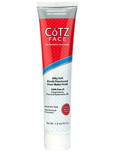 This Cotz sunscreen provides long-lasting sun protection and minimizes shine....