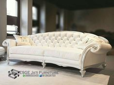 White Leather Sofa On Contemporary Living Room Furniture Furniture, Living Room Furniture, Sofa Design, Sofa, Classic Sofa, Contemporary Sofa, Leather Furniture Design, Leather Sofa, Elegant Sofa